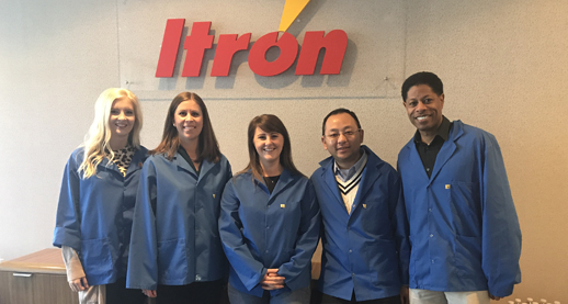 Oconee Itron employees