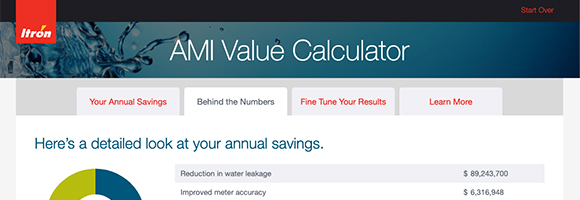 AMI Value Calculator screenshot
