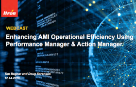 Enhancing AMI Operational Efficiency Webcast